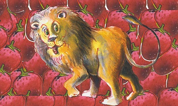 אריה שאהב תות